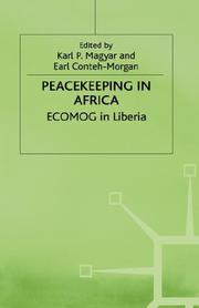Cover of: Peacekeeping in Africa |
