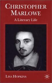 Cover of: Christopher Marlowe | Lisa Kings