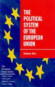 Cover of: Political System of the European Union, The