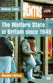 Cover of: Welfare State in Britain Since 1945, The