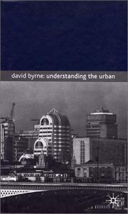 Cover of: Understanding the Urban