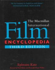 Cover of: The Macmillan international film encyclopedia
