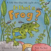 Cover of: Is That a Frog?