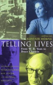 Cover of: Telling Lives