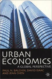 Cover of: Urban Economics: A Global Perspective