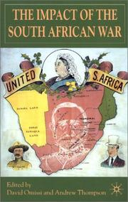 Cover of: The impact of the South African War