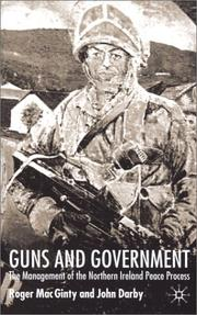 Cover of: Guns And Government | Roger MacGinty