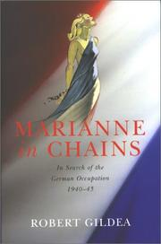 Cover of: Marianne in chains