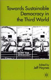 Cover of: Towards Sustainable Democracy in the 'Third World'
