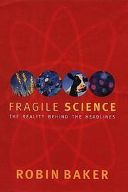 Cover of: Fragile Science