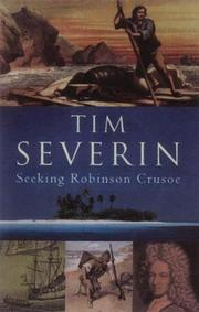 Cover of: Seeking Robinson Crusoe | Timothy Severin
