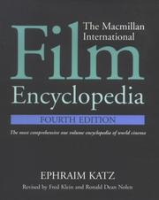 Cover of: Film Encyclopedia, 4e, The Macmillan International