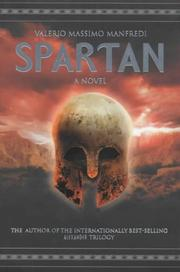 Cover of: Spartan: [a novel]