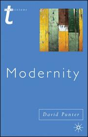 Cover of: Modernity (Transitions) | David Punter