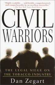 Cover of: Civil Warriors | Dan Zegart