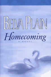 Cover of: Homecoming | Plain, Belva.