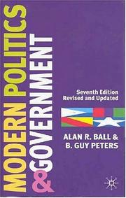Cover of: Modern politics and government