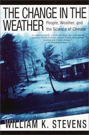 Cover of: The change in the weather