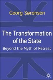 Cover of: The transformation of the state