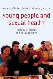 Cover of: Young People and Sexual Health |