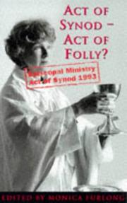 Cover of: Act of Synod