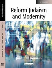Cover of: Reform Judaism And Modernity