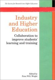 Cover of: Industry and Higher Education