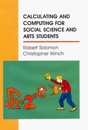 Cover of: Calculating and computing for social science and arts students