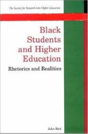 Cover of: Black students and higher education