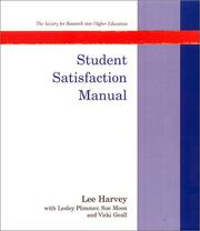 Cover of: Student satisfaction manual