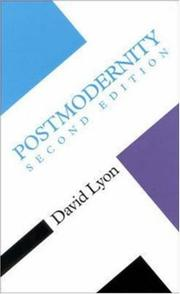 Cover of: Postmodernity (Concepts in the Social Sciences) | David Lyon