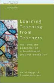 Cover of: Learning About Teaching from Teachers | Hazel Hagger
