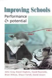 Cover of: Improving Schools