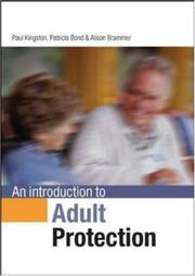 Cover of: An Introduction to Adult Protection
