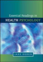 Cover of: Essential Readings in Health Psychology