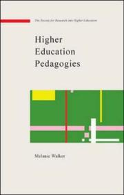 Cover of: Higher education pedagogies