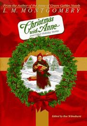 Cover of: Christmas with Anne: and other holiday stories
