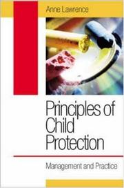 Cover of: Principles of Child Protection | Anne Lawrence