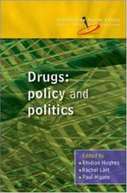 Cover of: Drugs (Introducing Social Policy) | Paul Higate, Rhidian Hughes, Rachel Lart
