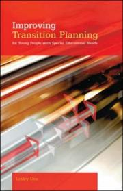 Cover of: Improving Transition Planning | Lesley Dee