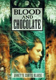 Cover of: Blood and chocolate