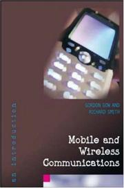 Cover of: Mobile and Wireless Communications | Gordon A Gow