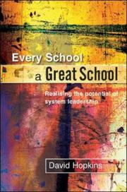 Cover of: Every School a Great School