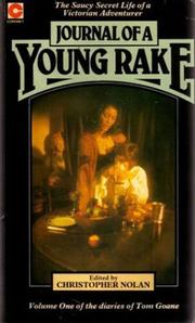 Cover of: Journal of a Young Rake