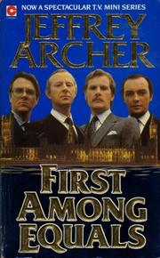Cover of: FIRST AMONG EQUALS | Jeffrey Archer