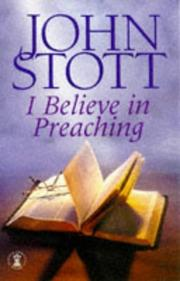 Cover of: I Believe in Preaching