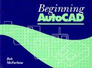Cover of: Beginning AutoCAD