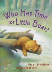 Cover of: Who has time for Little Bear?