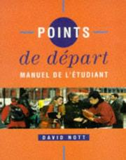 Cover of: Points De Depart | D.O. Nott