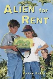 Cover of: Alien for rent